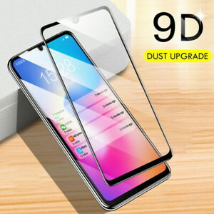 9D Cover Tempered Glass Screen For Samsung Galaxy S21 Ultra A72 A52 A42 A32 A02S