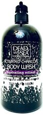 1 Ct Dead Sea Collection 33.8 Oz Activated Charcoal Hydrating Retinol Body Wash