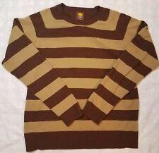 C&C California - 100% CASHMERE - striped - SWEATER - pullover - Men's - LARGE