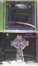 BLACK SABBATH - Tyr (1990) Headless Cross (1989)( 2 CD AUDIO CDs in JEWEL CASE )