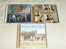 Diamond Rio lot of 3 CDs Completely Unbelievable One More Day Music Audio CD