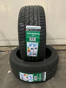 2 NEW 2254018 225 40 18  AUTOGREEN SSC 5 92W EXTRA LOAD TWO TYRES B WET GRIP