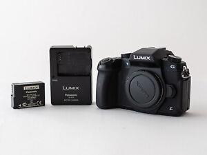 Very good condition Panasonic LUMIX G85 16.0MP Digital Camera Black (Body Only)