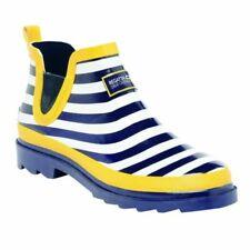 Regatta Harper Women's Short Wellington Boots - UK6, Yellow/Blue