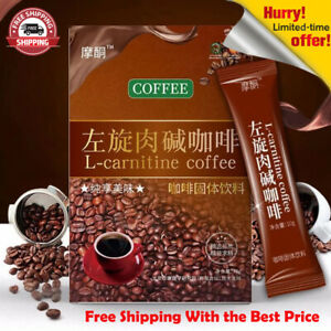 L-carnitine Coffee Weight Loss Slimming Fat Burning Weight Control Detox - *7Pcs