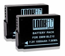 2x LOOKit BLC12 für Panasonic DMC FZ2000 GX8M  G6M, Panasonic DMC GX8