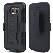 Samsung Galaxy S6 CASE COVER,Heavy Duty Armor Case Belt Clip Holster