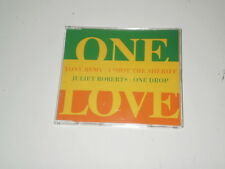 TONY REMY / JULIET ROBERTS - ONE LOVE - RARO CD SINGOLO 1996 POLYGRAM - FT