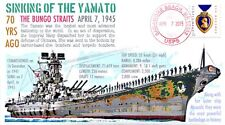 COVERSCAPE computer designed 70th anniversary WWII sinking of the Yamato cover