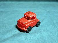 "RARE Vintage 1950's Wannatoy Plastic 5"" Semi Truck  Red"