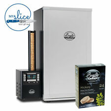 Bradley 4 Rack Digital Electric Smoker + FREE 24 Pack Of Hickory Bisquettes
