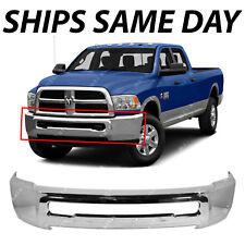 NEW Chrome Steel Front Bumper Face Bar for 2010-2017 Dodge RAM 2500 3500 Pickup