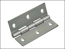 Forge Butt Hinge Polished Chrome Finish 65mm (2.5in) Pack of 2 FGEHNGBTPC65