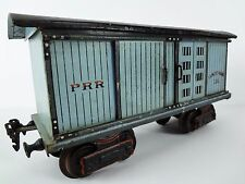 (P.R.R. / Pennsy) MARKLIN PRE-WAR Trains – 1 GAUGE Vintage TIN Train BOX Car Toy