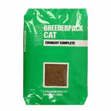 More details for breederpack cat crunchy complete dry food 15kg bag with free next day delivery