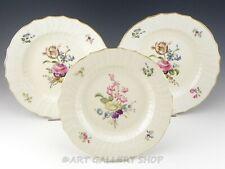"Royal Copenhagen #1621 Frijsenborg Floral 10"" Dinner Plates Set of 3"