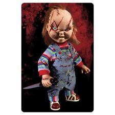 Mezco Toyz large size Childs Play Talking CHUCKY MIB in hand