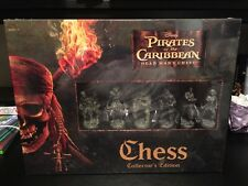 NEW Pirates of the Caribbean Dead Man's Chest CHESS Collector's Edition Disney