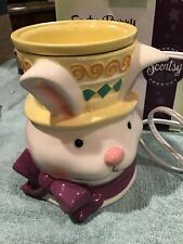 Easter Bunny Scentsy Premium Warmer Retired