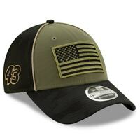 Bubba Wallace New Era 9FORTY Military Salute Snapback Adjustable Hat -