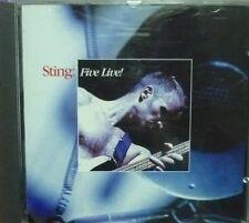 Sting - Five Live