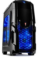 Inter-tech Q2 Illuminator Midi-tower Black - Computer Cases (midi-tower PC 1x