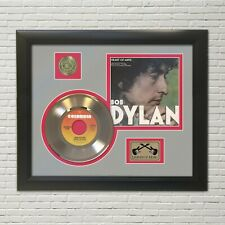 "Bob Dylan Framed Picture Sleeve 45 Record Display ""M4"""
