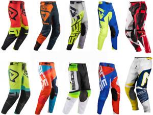 ACERBIS Adult Pants Motocross Enduro Trousers KX CRF KTM SX RMZ YZF CR 34 36 38