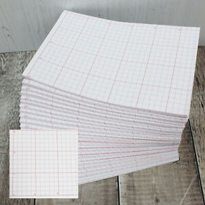 Quilters Graph Pattern Paper Squared Grid for Dressmaking Marking & Cutting