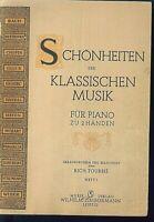 Rich. Tourbie - Schönheiten der klassischen Musik - Piano - Heft 1