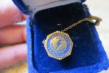 old original De Forest's Training Radio Electronic's graduate antique award pin