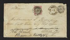 Denmark Scott #31 Used on July 22 1887 Cover to Utah Territory - SCARCE USAGE