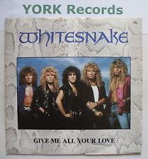"""Whitesnake-Dame todo tu amor-ex con 7"""" SINGLE"""