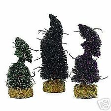 "DEPARTMENT 56, ACCESSORYS,     ""HALLOWEEN TOPIARIES,""     NEW IN ORIGINAL BOX"