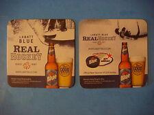 2009 BEER COASTER ~ LABATT Brewing ~ Real Hockey ~ Canadian Brewery Since 1847