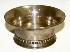 GEORG JENSEN USA STERLING SILVER 520 CONDIMENT DISH PLATE STYLISH SIGNED