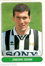 EUROPEAN FOOTBALL STARS 1997/98=FIGURINA N°88=ZINEDINE ZIDANE (JUVENTUS)