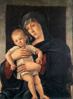 Nice Oil painting giovanni bellini - the Virgin Mary Madonna with little Christ