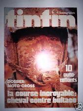 TINTIN L'HEBDO N°34 1973 DOSSIER MOTO CROSS