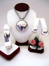 "Brighton ""BALLANTYNE"" Necklace-Earring-Bracelet Set (MSR$178) NWT/Pouch"