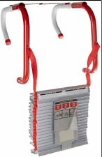 25 Foot Three Story Fire Escape Ladder Home Window Safety Family Emergency Smoke