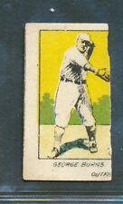 1921 W516-2-2: George Burns #1 New York Giants