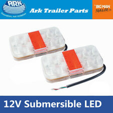 2x Ark LED Trailer Lights Tail Lamp Stop Indicator Light 12V Waterproof SLD15SB
