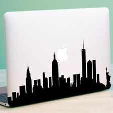 "NEW YORK SKYLINE Apple MacBook Decal Sticker fits 11"" 12"" 13"" 15"" and 17"" models"