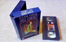 Star Trek First Contact Special Collectors Edition UK CARTON PAL VHS VIDEO 1998