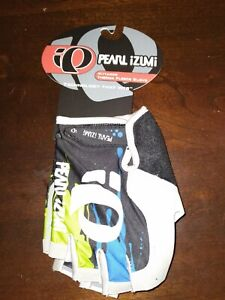 New Pearl Izumi Pittards Therma Fleece Gloves Blue Green Gray Size Med
