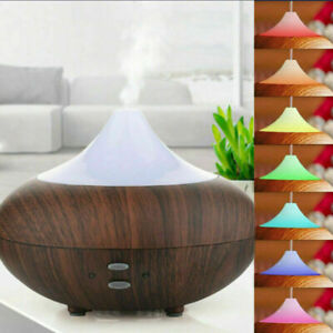 LED Luftbefeuchter Licht Ultraschall Duftöl Aroma Diffuser Humidifier Diffusor