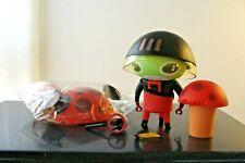 "Nathan Jurevicius StrangeCo Designer Toy Naal 6"" 2007"