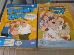 Family Guy Boxset : Seasons 1 & 2 & 3 (9x DVD, 2005) Region 4 Seth MacFarlane