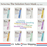 The Face Shop The Solution Mask Sheet 20g +Free Sample (choose sheet) [US Seller